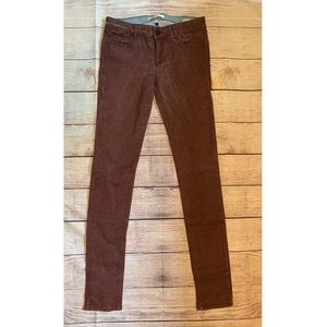 Habitual Alice skinny jeans rusty dark red size 28